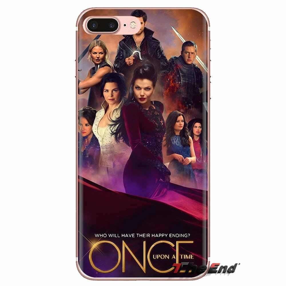 For Xiaomi Redmi 4A S2 Note 3 3S 4 4X 5 Plus 6 7 6A Pro Pocophone F1 Transparent Soft Shell Covers Once Upon A Time Book TV
