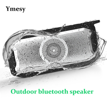 Ymesy Outdoor IPX7 Waterproof Bluetooth Speaker Portable Wireless Sound Bar Subwoofer Speakers for Computer Phone Soundbar