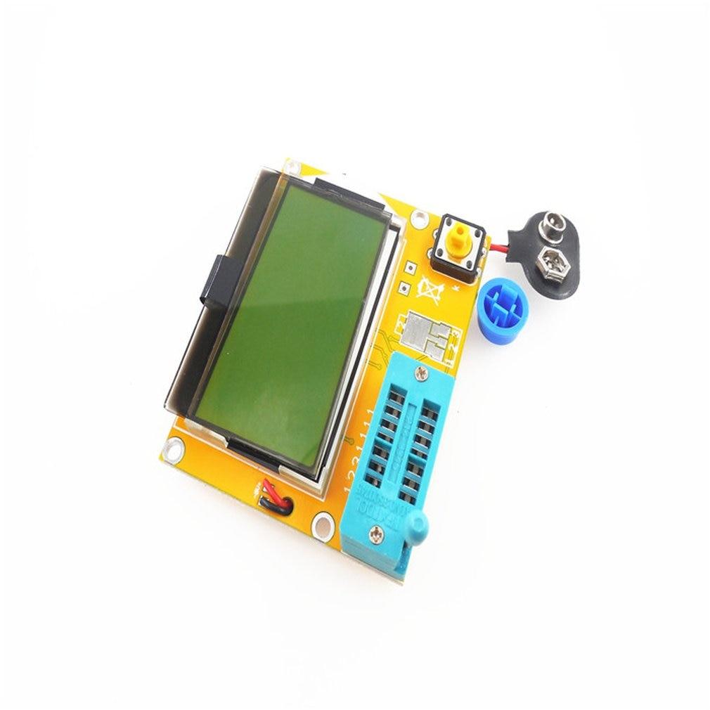Portable HW-308 ESR Meter Transistor Tester Digital 12864 LCD Screen Tester