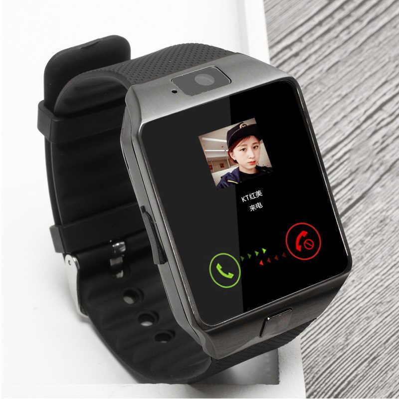 2020 บลูทูธ DZ09 นาฬิกาสมาร์ทนาฬิกา Relogio Android โทรศัพท์ smartwatch Fitness Tracker reloj สมาร์ทนาฬิกาซับวูฟเฟอร์ผู้หญิงผู้ชาย DZ 09