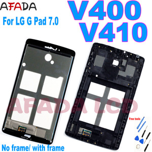 Original 7.0'' LCD For LG G PAD 7.0 V400 V410 LCD Display Touch Screen Digitizer Assembly Replacement for LG V400 LCD