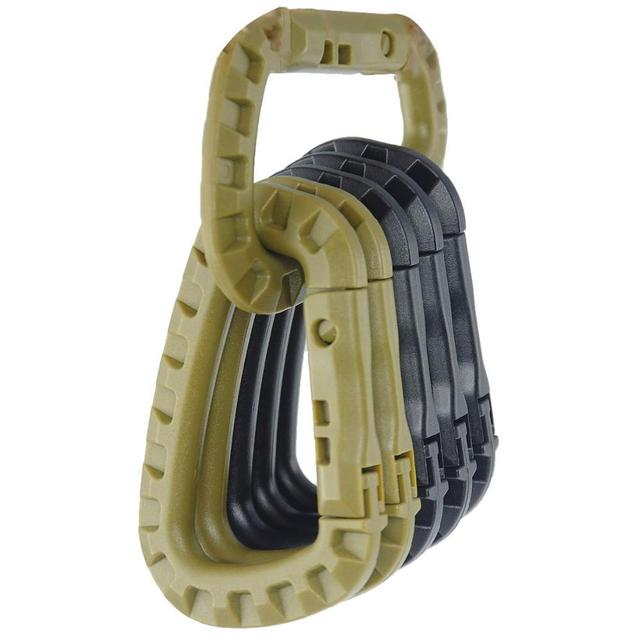 Outdoor Multitool D-ring Buckle Carabiner Molle Webbing Backpack Clip Clasp Camping Climbing Hunting Hiking Accessories EDC Tool 1