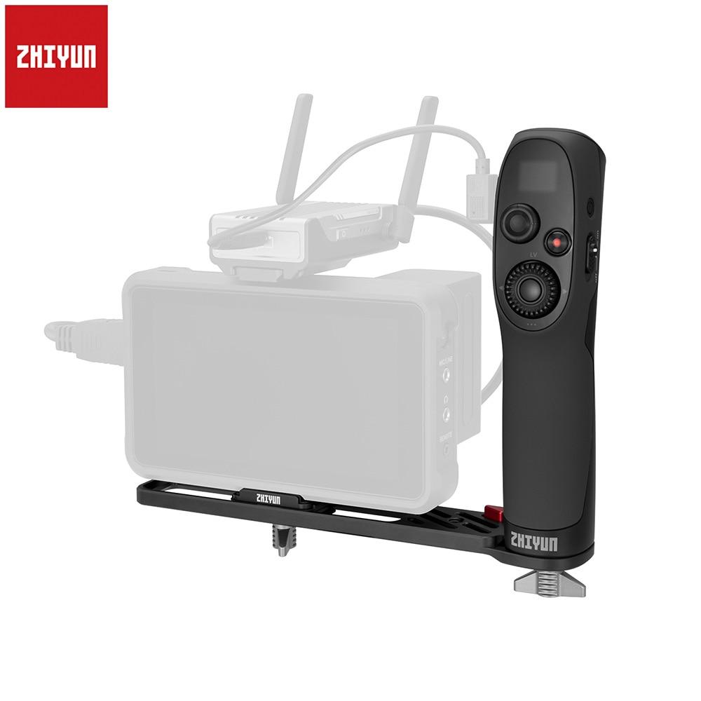 Zhiyun sensor de movimento controlador remoto com placa de extensão para zhiyun weebill s 3-axis handheld cardan estabilizador