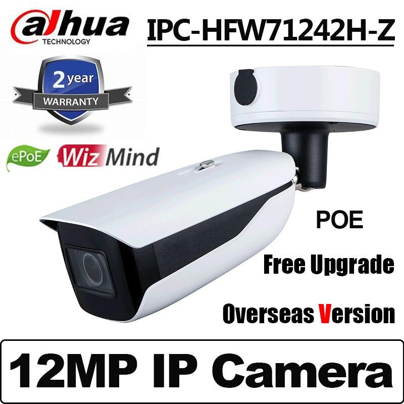 Сетевой видеорегистратор Dahua 12MP IPC-HFW71242H-Z ИК 60 М Пуля WizMind сети Камера распознавание ANPR подсчет людей IP67 IK10 IP CCTV камера Камера