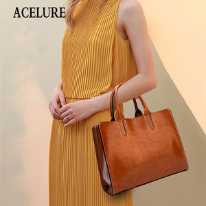 Image 5 - ACELURE Women Shoulder Bag Female Causal Totes for Daily Shopping All Purpose High Quality Dames Handbag Leather Bags for Women