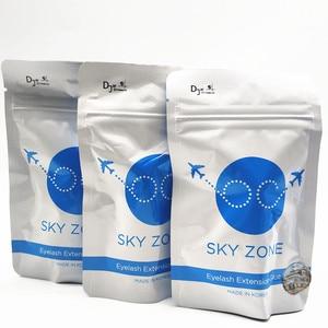 Image 5 - Бесплатная доставка, оригинальный корейский клей для наращивания ресниц Sky Zone, 5 мл, 1 бутылка, накладные ресницы, черный клей для макияжа, косметические инструменты