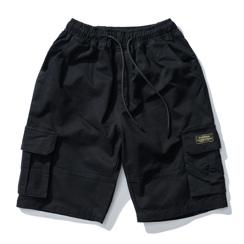 2019 Spring And Summer New Style Japanese-style Simple Multi-pockets Workwear Shorts Shorts Trend Casual Shorts Fashion Man