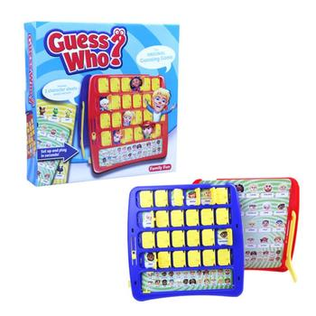 Who Is It Board game Memory Training Family Parent-Child Interactive Educational Guessing Baby Birthday Gift Desktop Funny Game juior blokus classic kids board game baby desktop funny strategy game family parent child interactive educational fun toys