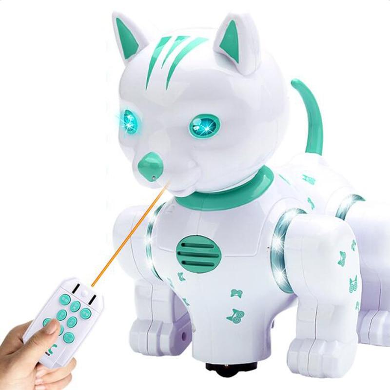 robo inteligente gato musica puzzle brinquedo iluminacao 05