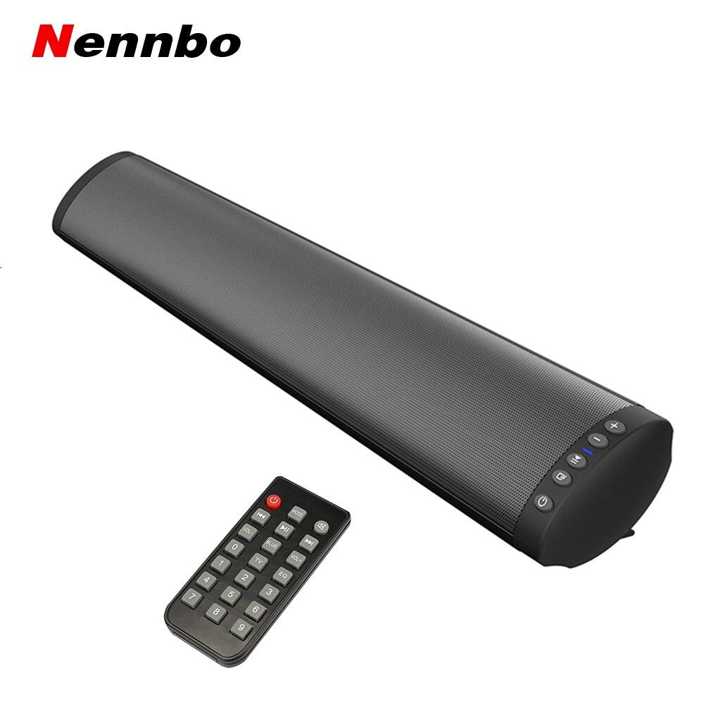 BS-41 Bluetooth 5.0 haut-parleur avec Microphone sans fil stéréo barre de son pour TV Home cinéma Subwoofer pour votre téléphone Mobile