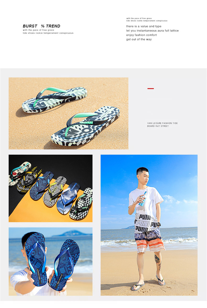 Ha36c660d5028479f90594b0e608171f3u - VESONAL Summer Graffiti Print Slippers Men Shoes Flip Flops Slipers Male Hip Hop Street Beach Slipers Casual Flip-flops