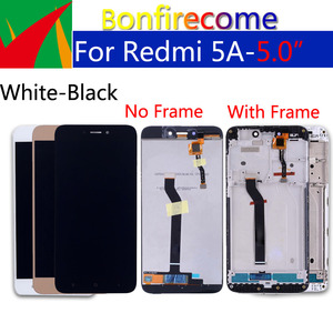 "Image 4 - 5.0"" Original For Xiaomi Redmi 5A Touch Screen Digitizer LCD Frame Assembly Replacement For Redmi 5a LCD Display 1280*720"