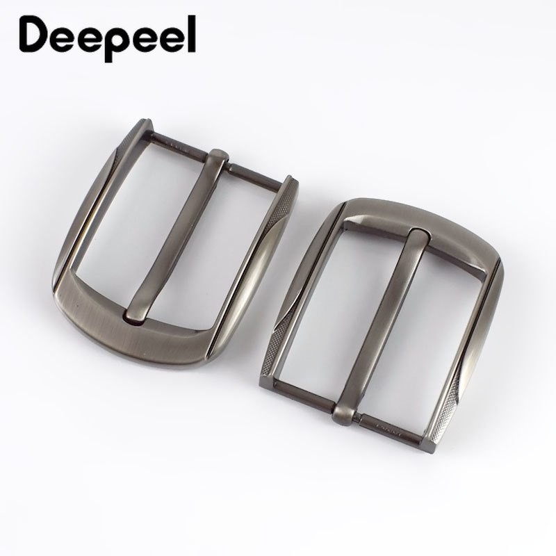 2/5pcs Deepeel Fashion Men Belt Buckles Metal Pin Buckle For Belt Width 38-39mm DIY Leathercraft Hardware Jeans AccessoriesKY305