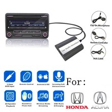 DOXINGYE USB AUX Bluetooth автомобильный радиоприемник CD адаптер для автомобиля MP3 плеер Музыка Bluetooth Handsfree для Honda Accord Civic CRV