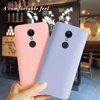 Für Xiaomi Redmi 5 Fall weiche Matt silicon Telefon Fall Für Xiaomi Redmi 5 Plus Capas auf Funda Xiomi Redmi 6a 6 5a 6 eine Abdeckung Fällen