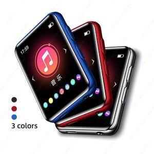 NBX Mp3 плеер с Bluetooth спикер сенсорный экран музыкальный плеер Встроенный 4 Гб HiFi Металл Мини Портативный Walkman с радио Запись