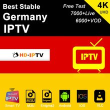 Allemagne iptv abonnement m3u abonnement iptv Swizerland autriche Portugal IPTV Android Smart ip tv Box Enigma2 PC(China)