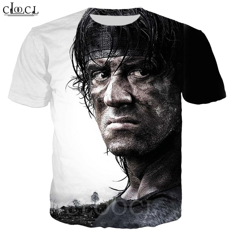 Rambo T Shirt Men Women 3D Print Last Blood Short Sleeve Cool T Shirt Sweatshirt Casual Fashion Streetwear Pullovers B365