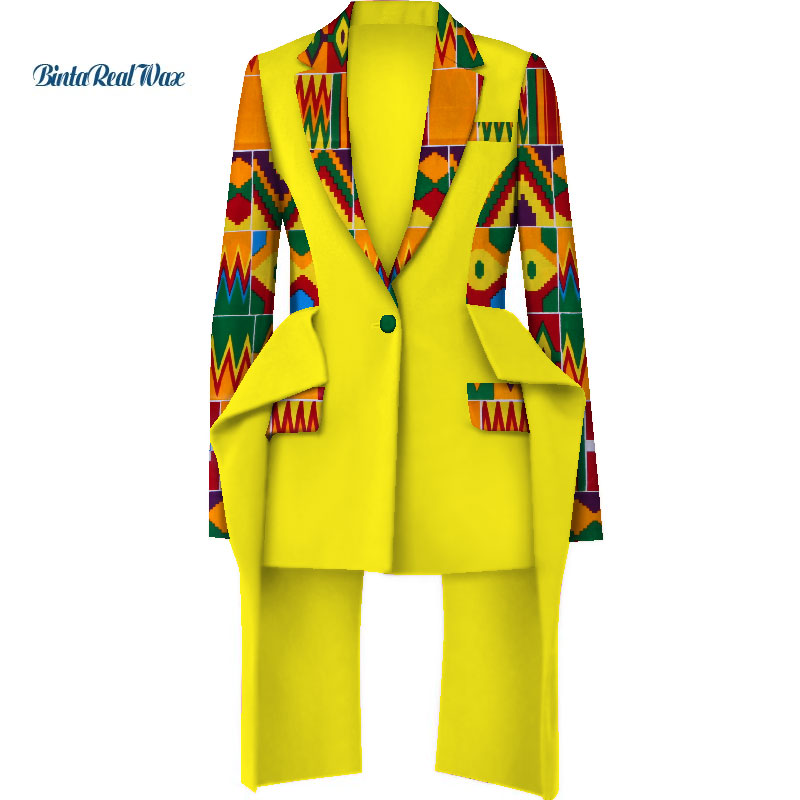 Fashion African Print Top Jacket For Women Bazin Riche Top Jacket 100% Cotton Dashiki Women African Clothing WY3935
