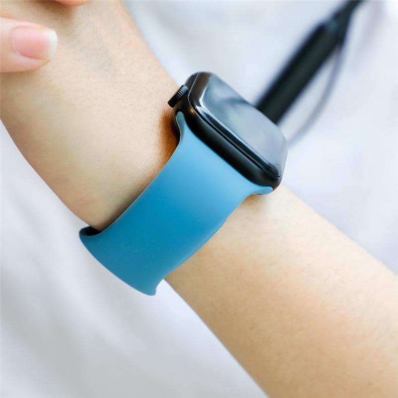 Ремешок для apple watch band 44 мм/40 мм iwatch band 5 4 42 мм 38 мм correa pulseira watch band для apple watch 5 4 3 браслет 44 мм