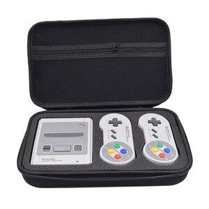 Image 2 - حقيبة التخزين لنينتندو SNES الكلاسيكية البسيطة قشرة صلبة واقية لعبة حالة ل Nintend التبديل SNES السفر في الهواء الطلق صندوق حمل