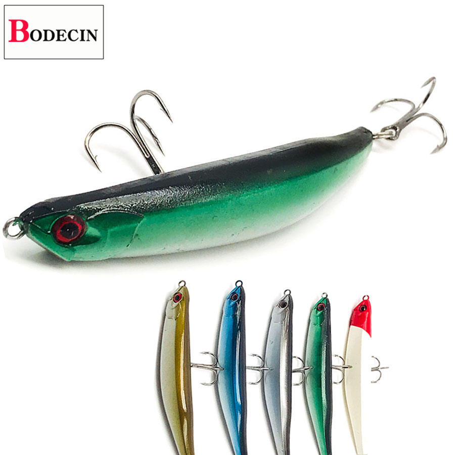 Bent Pencil Hard Plastic Bait For Pike Swimbait Floating Sea Artificial Fishing Lure Topwater Trout Fake Lures China Jerkbait