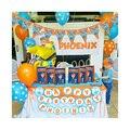Набор воздушных шаров 44 шт./компл. Blippi, принадлежности для вечерние, баннер на день рождения, латексные воздушные шары, топперы для торта для ...