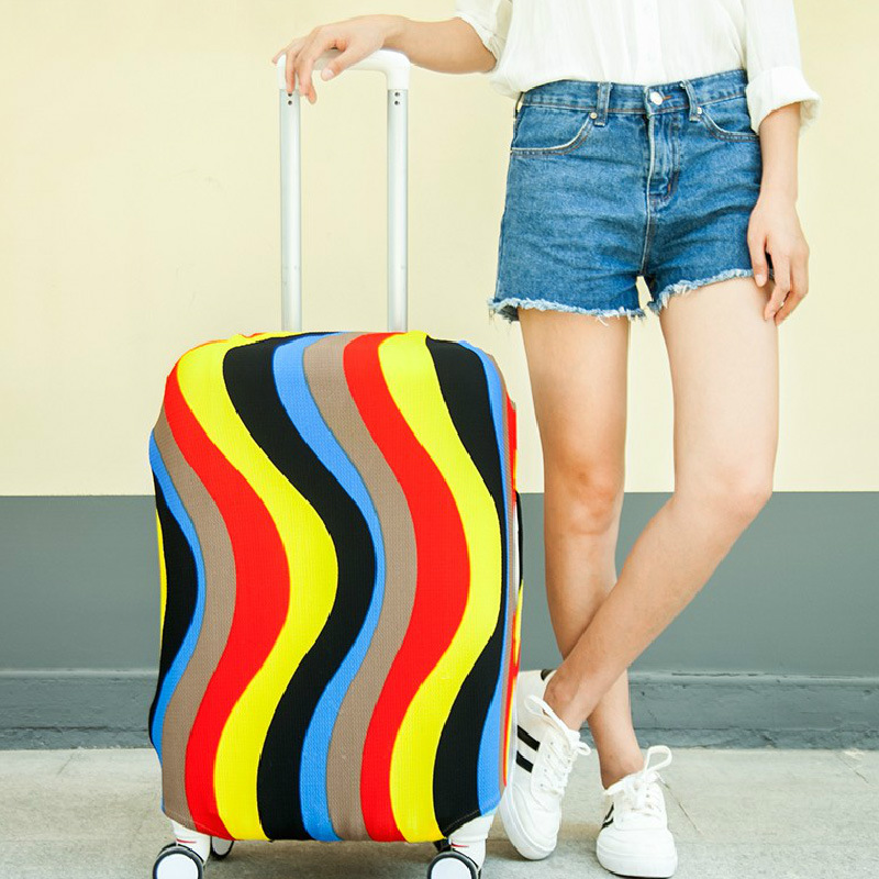 New Travel On Road Luggage Cover Luggage Protector Suitcase Protective Covers For Trolley Case Trunk Case Apply To 18-30 Inch