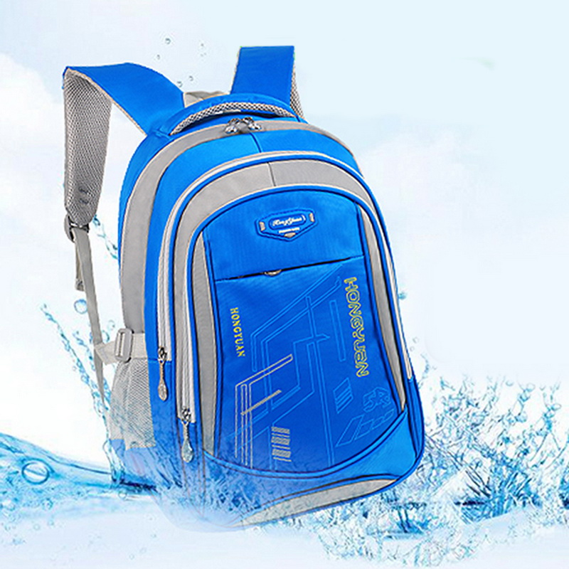 Litthing Capacity Waterproof Satchel Kids Book Bag Backpack Schoolbag Children School Bags For Teenagers Boys Girls Big 2019
