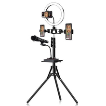 Photo LED Selfie Ring Fill Light 10inch Dimmable Camera Phon