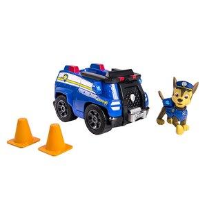 Image 2 - Juego de cachorros de rescate de La Patrulla Canina auténtica, coche de juguete, modelo de figura de acción Chase Skye, coche de escombros, regalo para niños