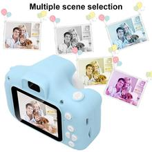 Children Hd Digital Camera 2 Inch Cartoon New Mini Camera With 16G Memory Card Child Birthday Gift Toy Selfie Video Recording