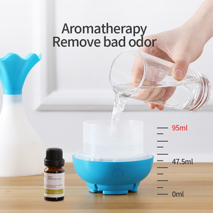 Image 5 - USB Air Humidifier Ultrasonic Aromatherapy Essential Oil Aroma Diffuser with LED Night Light Mist Purifier Atomizer for Home