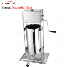 TV3L manual sausage filler S.steel stuffer quality maker making machine