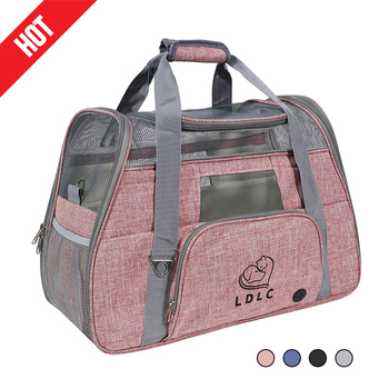 Pet Bag Portable Dog Cat Carrier Puppy Travel Bags Breathable Mesh Small Chihuahua Outgoing Pets Handbag