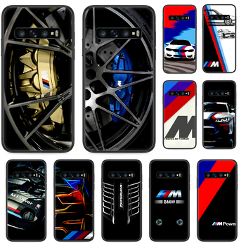 BMW Luxury Cool Car Phone case For Samsung Galaxy Note S 8 9 10 20 Plus E Lite Uitra black prime 3D hoesjes tpu waterproof image