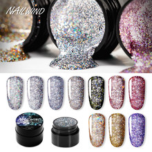NAILWIND-vernis à ongles Gel, peinture paillettes et diamants éblouissants, hybride, Base Semi-permanente pour Nail Art