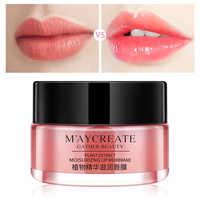 Nutre el labio mascarilla hidratante bálsamo de relleno labial exfoliador reparación labios líneas finas crema nutritiva cuidado maquillaje Base de labios Primer