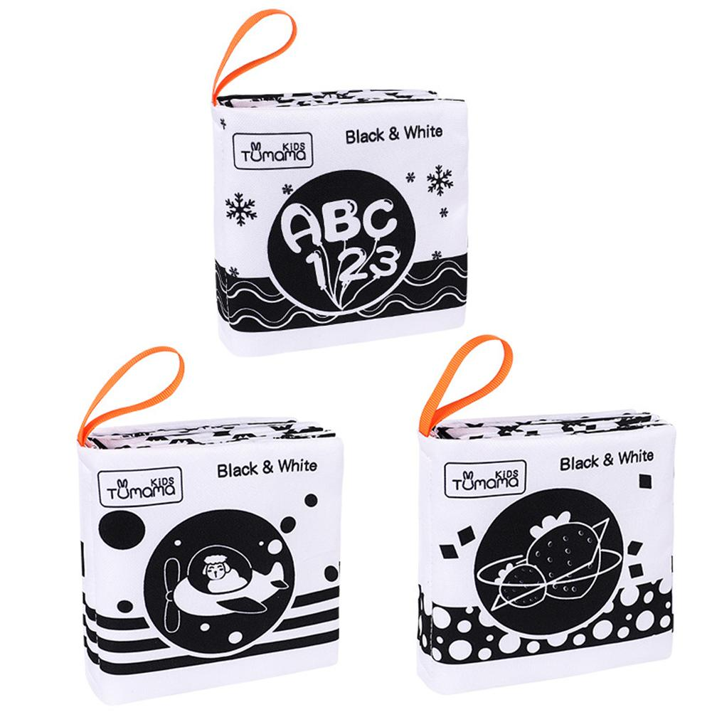 3pcs Babies Soft Cloth Books Soft Books Toys For Children Not Fade Newborn Soft Fabric Cloth Book Learning Educational For Kid