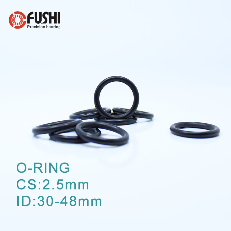 5 x 5 mm Viton 75 o/'ring 50x