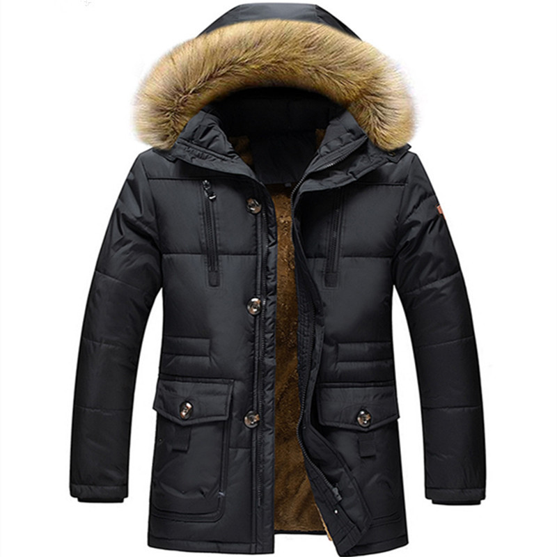 Mens Winter Jackets and Coats Winter Jacket Men Thickening Warm Men Clothes Hooded Man's Coat Outerwear Manteau Homme M-7XL
