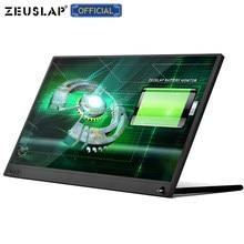 15.6 calowy ekran ultracienki FHD IPS ekran USB C kompatybilny z HDMI przenośny ekran monitora do przełącznika PS5 Macbook Huawei Mate 40