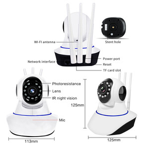 Image 2 - Kebidumei 1080P kamera IP bezprzewodowy bezpieczeństwo w domu kamery kamera monitorująca Wifi noktowizor kamera telewizji przemysłowej 2mp niania elektroniczna Baby Monitor
