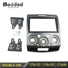Radyo Stereo paneli Ford Everest Ranger Mazda BT 50 BT50 çift 2 Din fasya Dash kurulum kiti Trim yüz plakası çerçeve