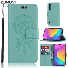 For Xiaomi Mi CC9 Case Soft Silicone Luxury Leather Cover 6.39 Phone Bag BSNOVT