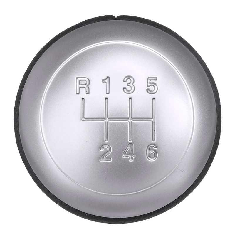 6 Kecepatan Mobil MT Kulit Gear Shift Knob Tuas Shifter Handle Stick untuk Hyundai Santa Fe untuk Kia K5