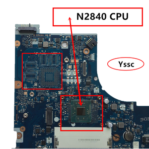 Image 2 - 100% yeni NM A311 anakart için Lenovo G50 30 dizüstü PC anakart intel n2820 n2830 n2840 CPU kullanımı ddr3l alçak gerilim bellek