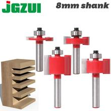 """1/2"""" Height X 3/8"""" Depth Slot Cutter Router Bit   8"""" Shank  woodworking tool router bits for wood"""