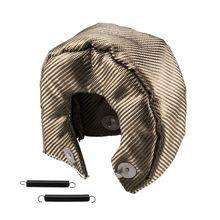 Т3 титана турбина одеяло тепловой щит крышка стекловолокна турбина зарядное устройство крышка волокна турбина одеяло турбо зарядное устройство крышка обертывание
