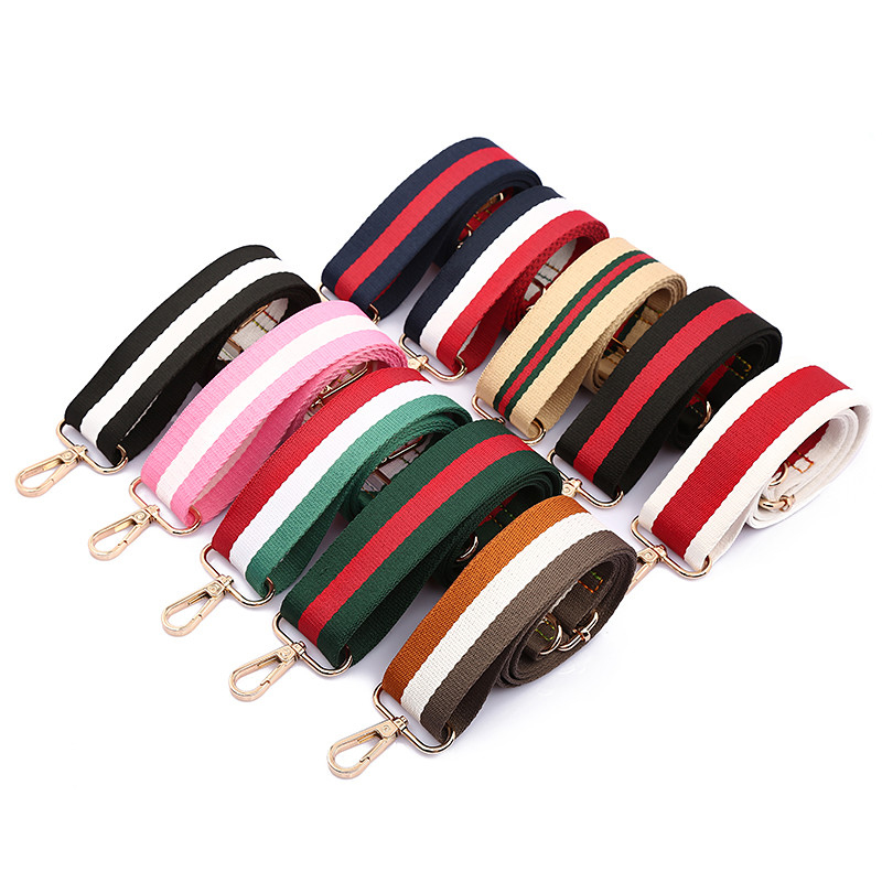 120cm Casual Canvas Wide Straps For Women Bags Colorful Strap For Shoulder Crossbody Bags Adjustable Handle Bag Accessories 2020
